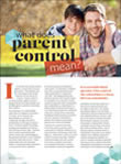 What does parent control mean